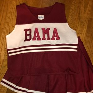 Alabama cheer outfit size 10